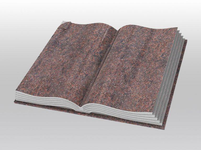 grafmonument, boek monument, himalaya, rood, jan reek natuursteen