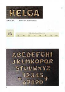 letters, brons, lettertype, helga, jan reek natuursteen