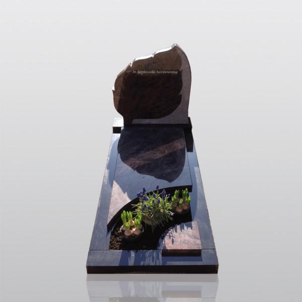 grafmonument, bijzonder, bruin, indian aurora, jan reek natuursteen