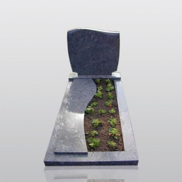 grafmonument, golfkop, dekplaat, plantvak, jan reek natuursteen