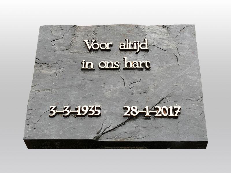 grafmonument, klein monument, brons, luxemburgse lei, jan reek natuursteen
