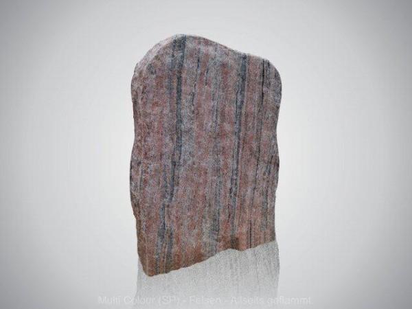 grafmonument, ruwe steen, rood, natuurlijke vorm, jan reek natuursteen