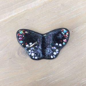 glas, vlinder, accessoires, zwart, jan reek natuursteen